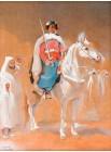 GARDE ROYAL SUR UN CHEVAL, 1932