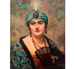 PORTRAIT DE FEMME,1928